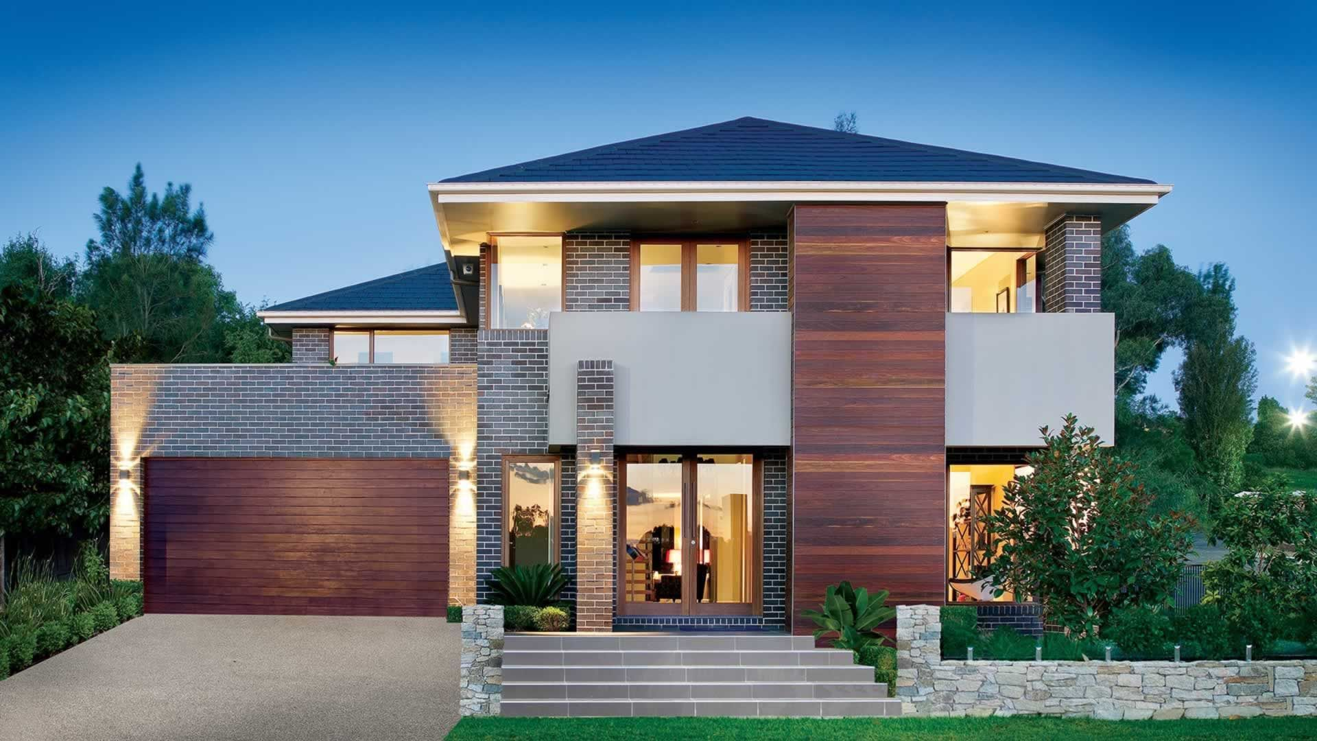Waldorf - Prestige Series | Eden Brae Homes | Home - Facade ...