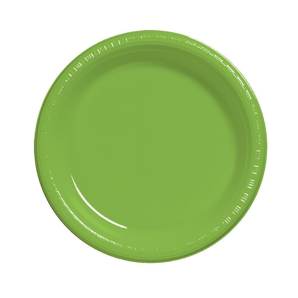 Touch Of Color 20 Count 7\  Heavy Duty Plastic Plates Fresh Lime  sc 1 st  Pinterest & Touch Of Color 20 Count 7\
