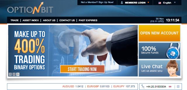Optionbit binary trading
