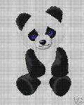 Baby Panda Sitting Crochet Pattenr #babypandabears