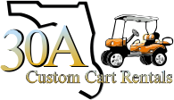 Santa Rosa Beach Rent A Golf Cart 30a Custom Cart Rentals Almost
