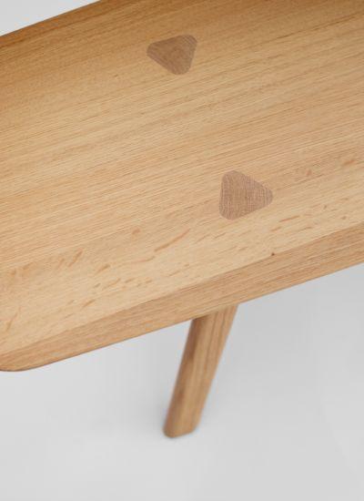 Thomas Feichtner Interio Austria Collection Design Thomas Feichtner 2015 Material Oak Wood Natural Wood Finish Chair Bench Chair