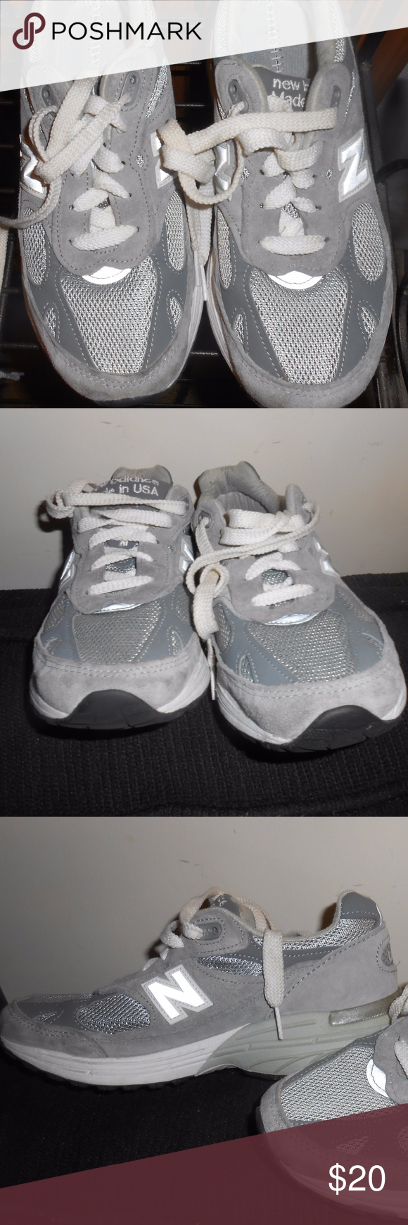 official photos bf1a0 0657b NEW BALANCE 993 (WR993GL) Running Shoes Grey/White - Size 6 ...
