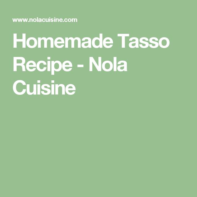 Photo of Homemade Tasso Recipe – Nola Cuisine