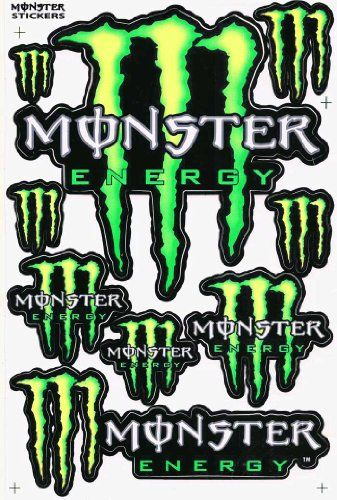 This Is So Cool Monster Energy Racing Stickers Monster Energy Girls