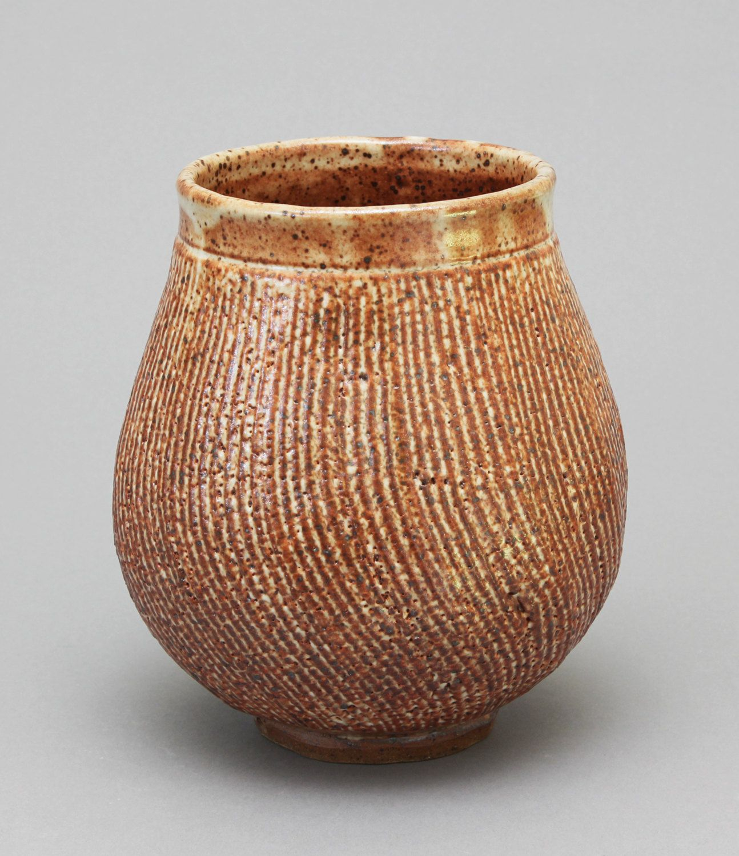 Wheel thrown shino with texture ikebana flower vase by hsinchuen wheel thrown shino with texture ikebana flower vase by hsinchuen lin reviewsmspy