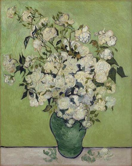 Vincent van Gogh, Vase de roses, 1890, Metropolitan museum of art New York