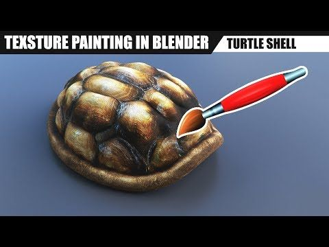 Blender tutorial Texture painting (+ sculpting) YouTube