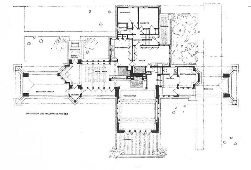 Ward Willits House Frank Lloyd Wright Pinterest