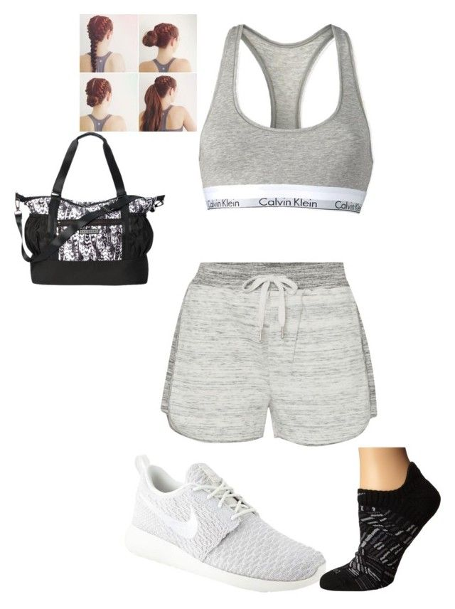 """Workout summer"" by charlize100 on Polyvore featuring Calvin Klein and NIKE"