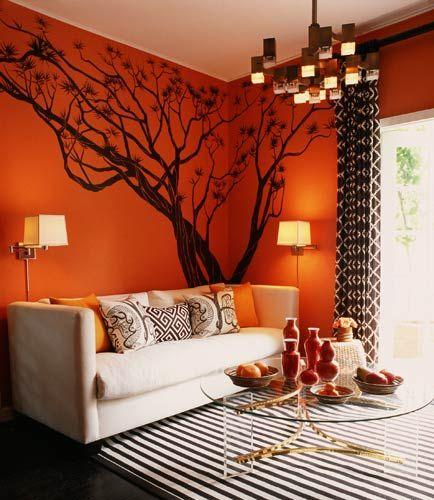 Maison21 I Ll Tumblr For Ya Orange Decor Decor Tree Wall Decal