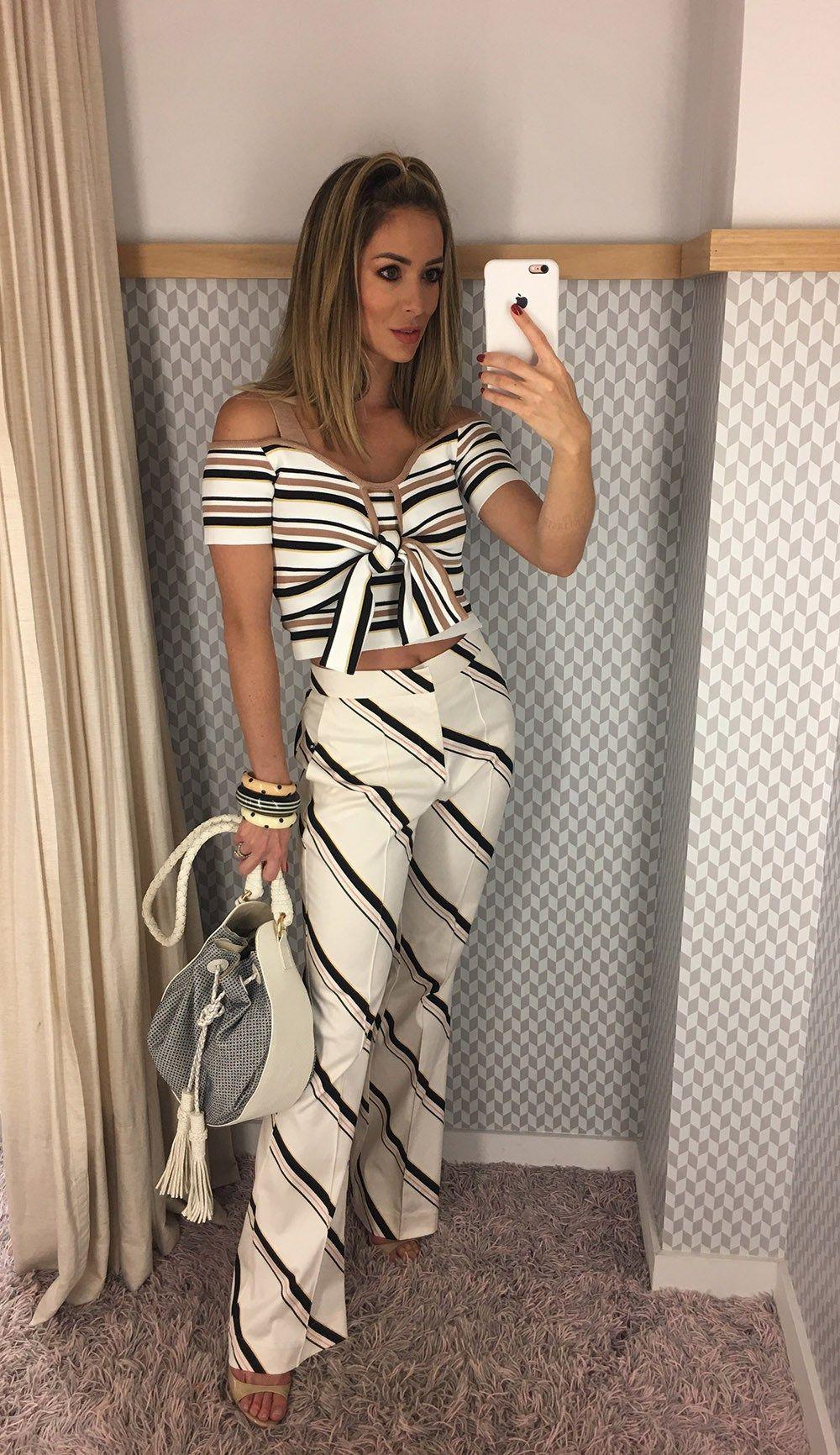 cc7b239c3 Batalha das fashionistas - Village Mall | calças mix | Blusas ...