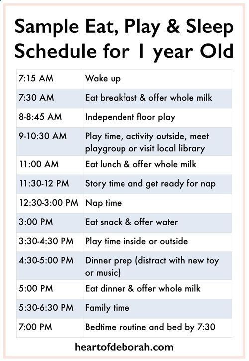 Every child is different but its nice to see  sample eat play and sleep schedule get an idea here baby for one year old toddler also rh pinterest