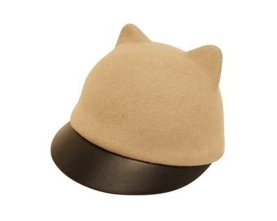 Bcbg Cat By D A Hats Black Faux Leather Fashion Cap Cool Hats