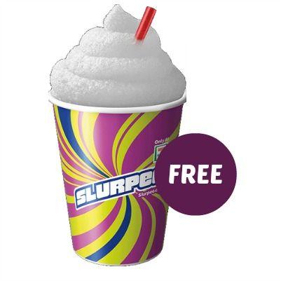 Free Sprite Slurpee from 7 Eleven Free slurpee, Slurpee