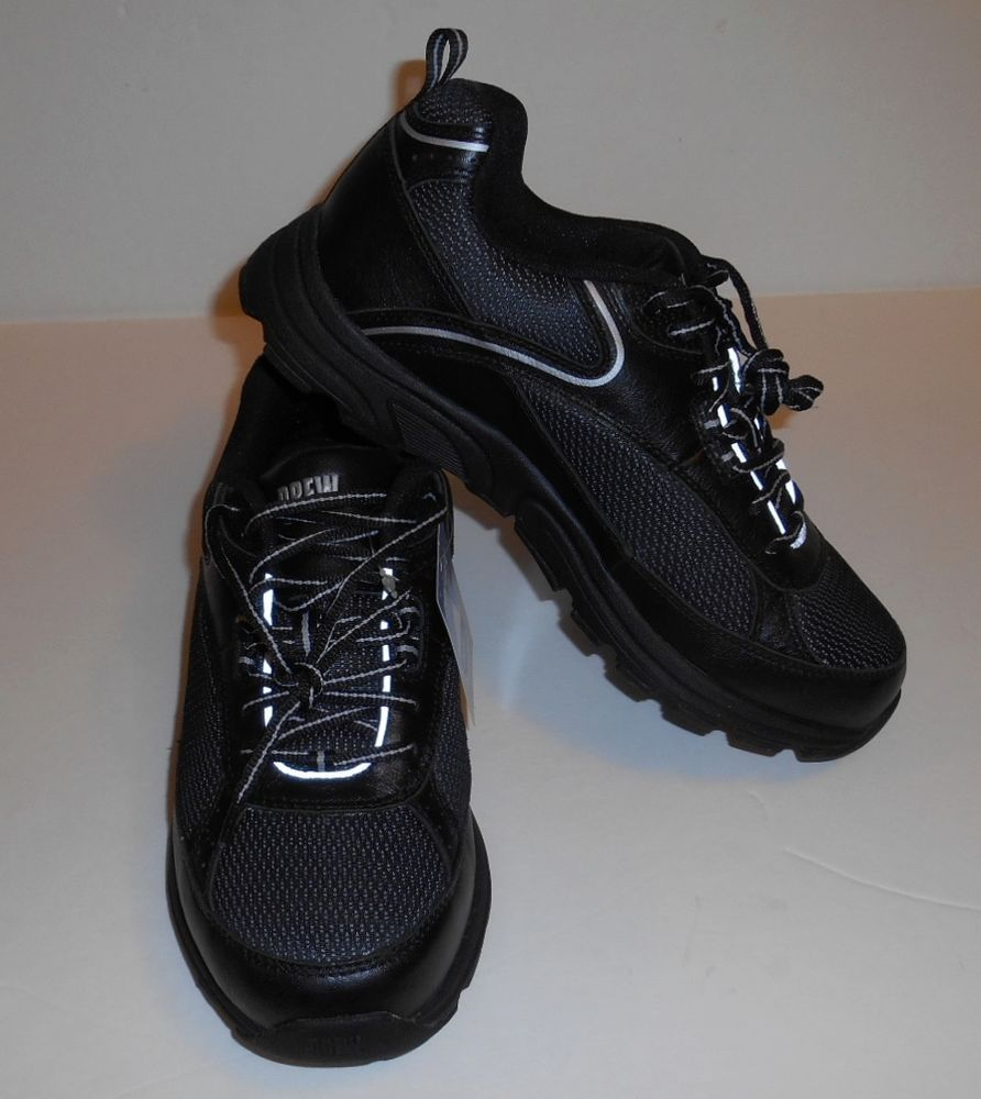 Drew Dri-Lex Athena Athletic Shoes Black Women's Size 8 Wide New With Tags #Drew #Comfort