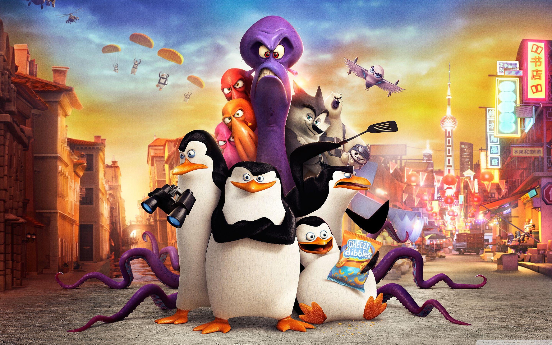 Hd Wallpaper Funny Penguins Of Madagascar Background Wallpapers Madagascar Movie Penguins Of Madagascar Poster Prints