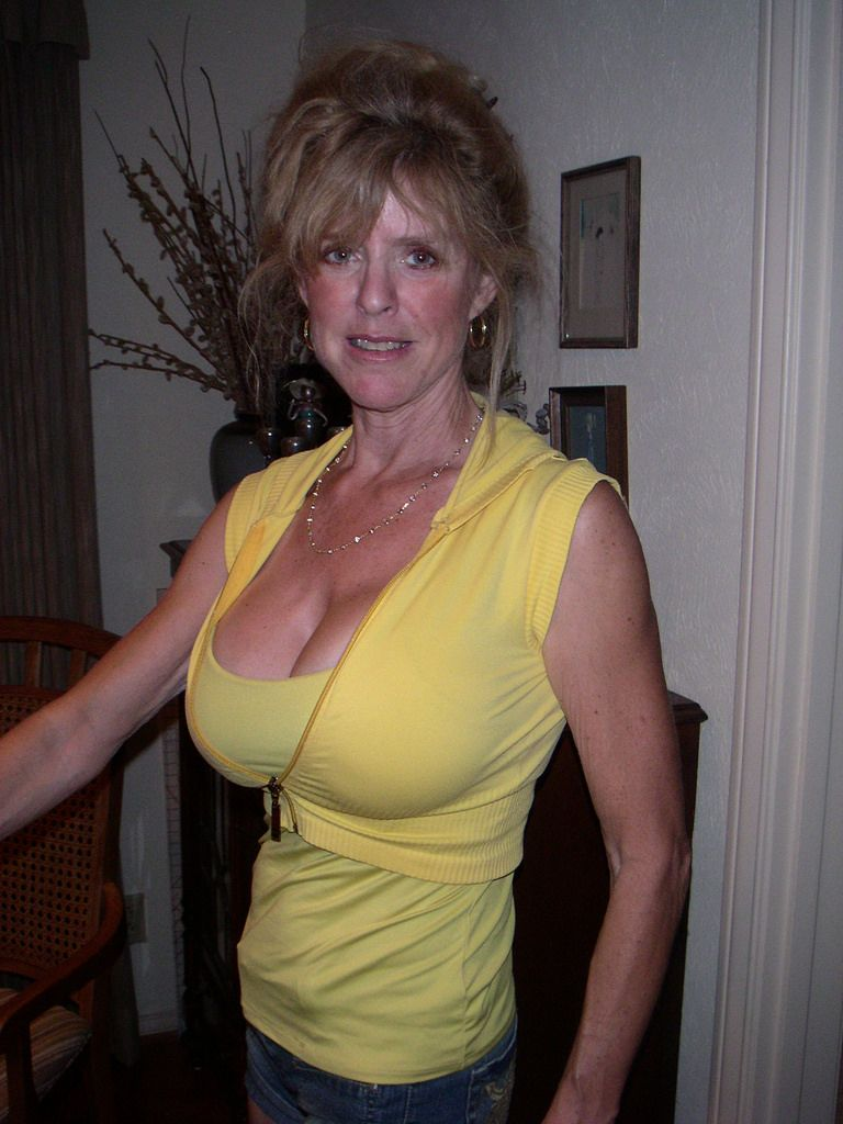 Busty elderly women