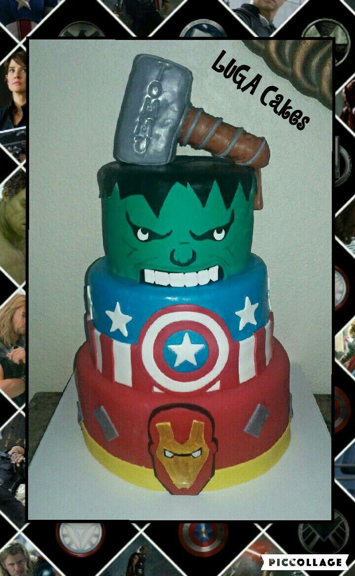 Avengers cake cake avenger cake desserts