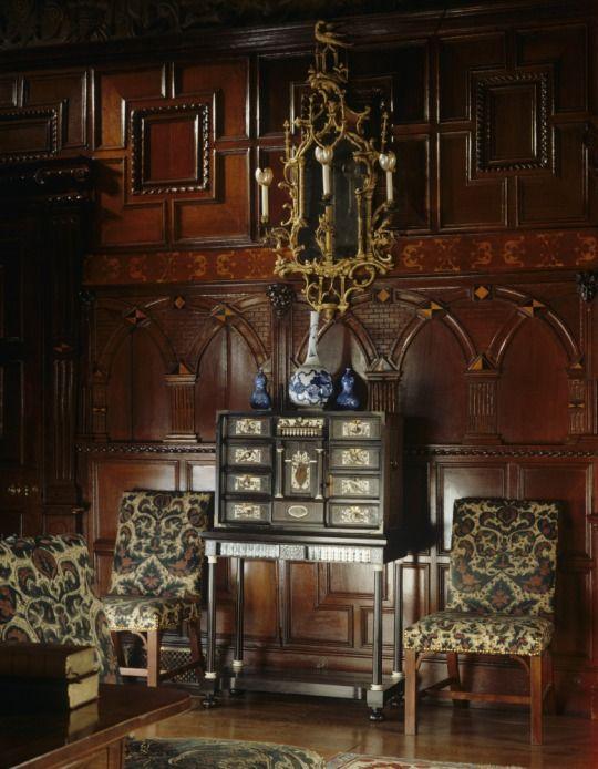 LYME HALL The Drawing Room - England .