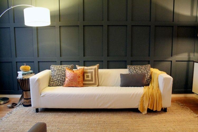 Déco cocooning hiver coussins, couvertures et meubles tricotés Salons