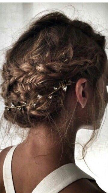Pin De Ypthima En Hair Nail Peinado De Novia Recogidos Moños Con Trenzas Estilos De Peinado Para Boda