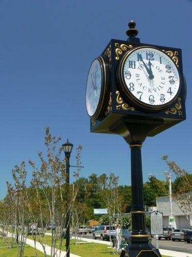 Blackville Town Clock Blackville South Carolina Sc Clock South Carolina Homes South Carolina