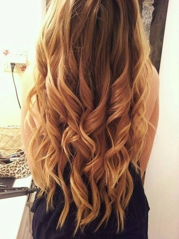 The Beauty Goddess How To Curl Long Thick Hair Thick Hair Styles Long Thick Hair Hair
