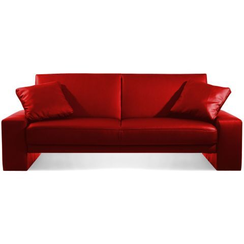 Cuba Sofa Bed Red   Apartamento   Leather sofa bed, Best ...