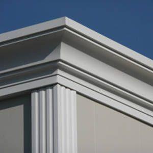 Molduras para exterior casa ross pinterest molduras - Molduras para fachadas ...
