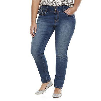 Hydraulic Bailey Super Skinny Knit Jeans - Juniors