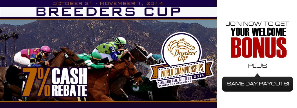 Breeders Cup WagerWeb offers casino betting and racebook