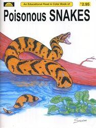 Poisonous Snakes Coloring Book Poisonous Snakes Exodus Book Animal Magazines
