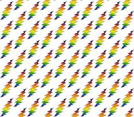 cc0377a9e14 Patchwork Dress · Batik Rainbow Lightning Bolt Grateful Dead fabric by  phatcatpatch on Spoonflower - custom fabric Hippie Skirts