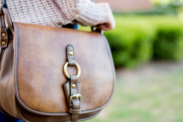 The Life of a Lady: Buckle Saddle Bag from Versona