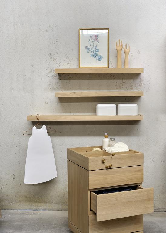 Ethnicraft Oak Cadence Bathroom #shelf #cabinet Www.ethnicraft.com/bathroom.  MobilierSalle De Bains ...