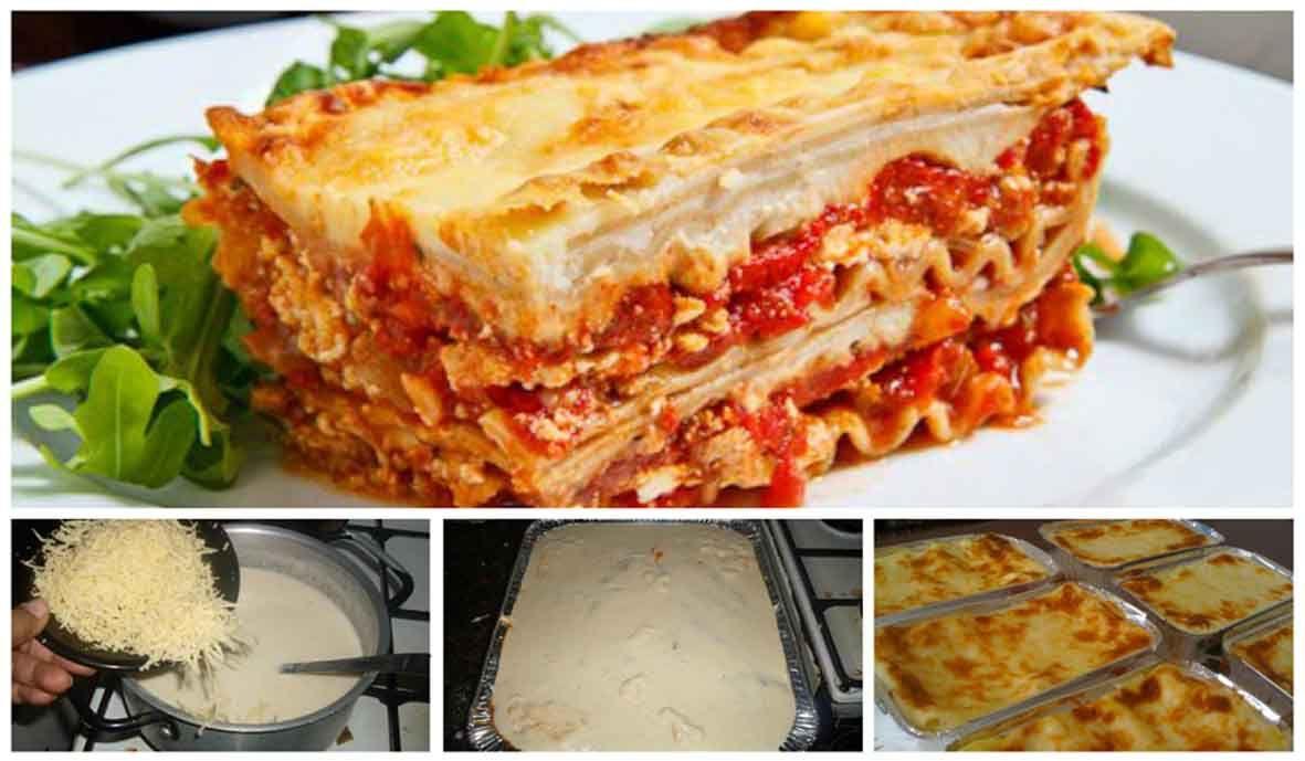 Resep Lasagna Keju Panggang Praktis Yg Lezat Dan Melumer Di Mulut Keju Panggang Resep Masakan Resep