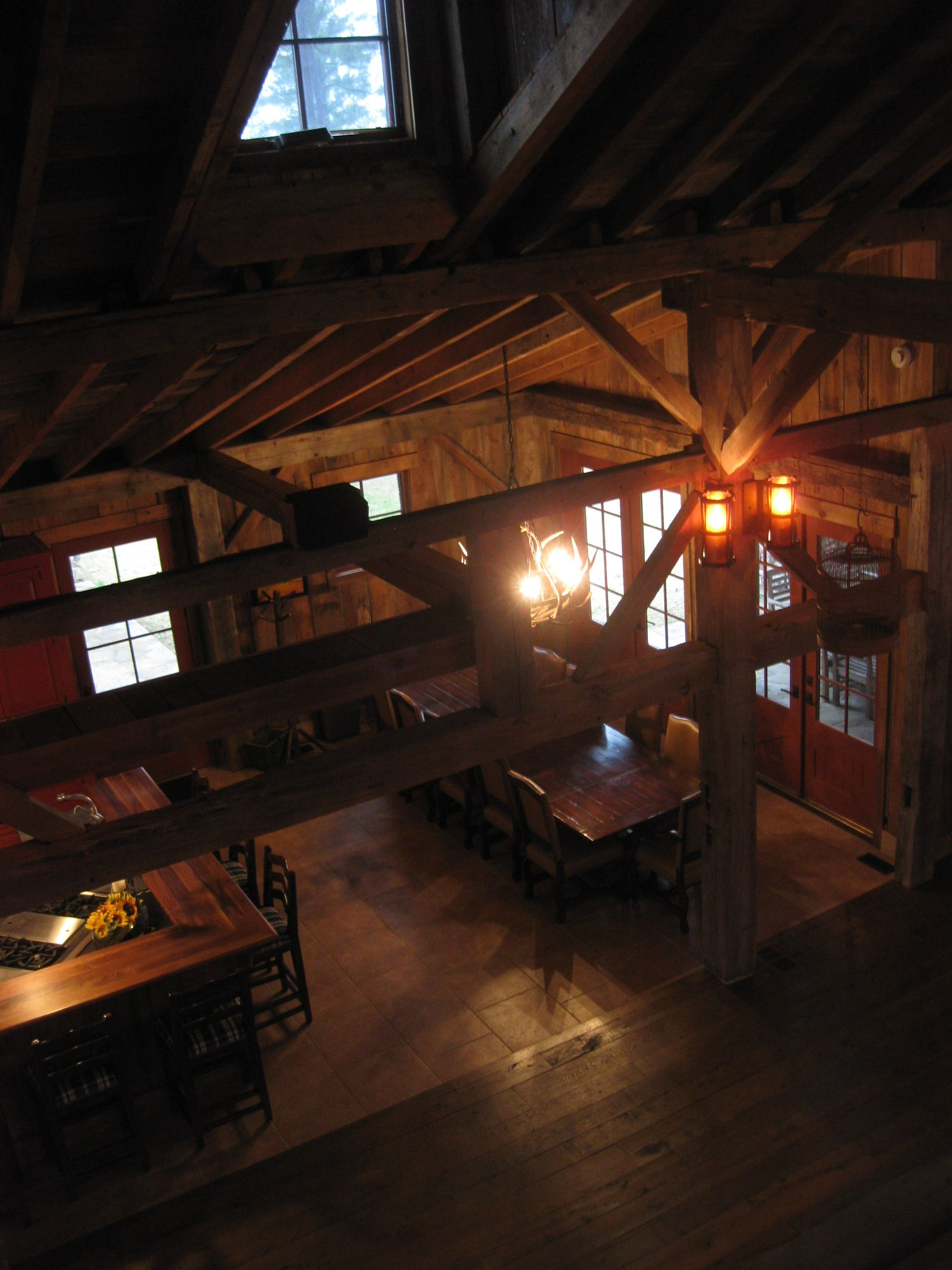 Main Room (view from upstairs loft) (With images ...