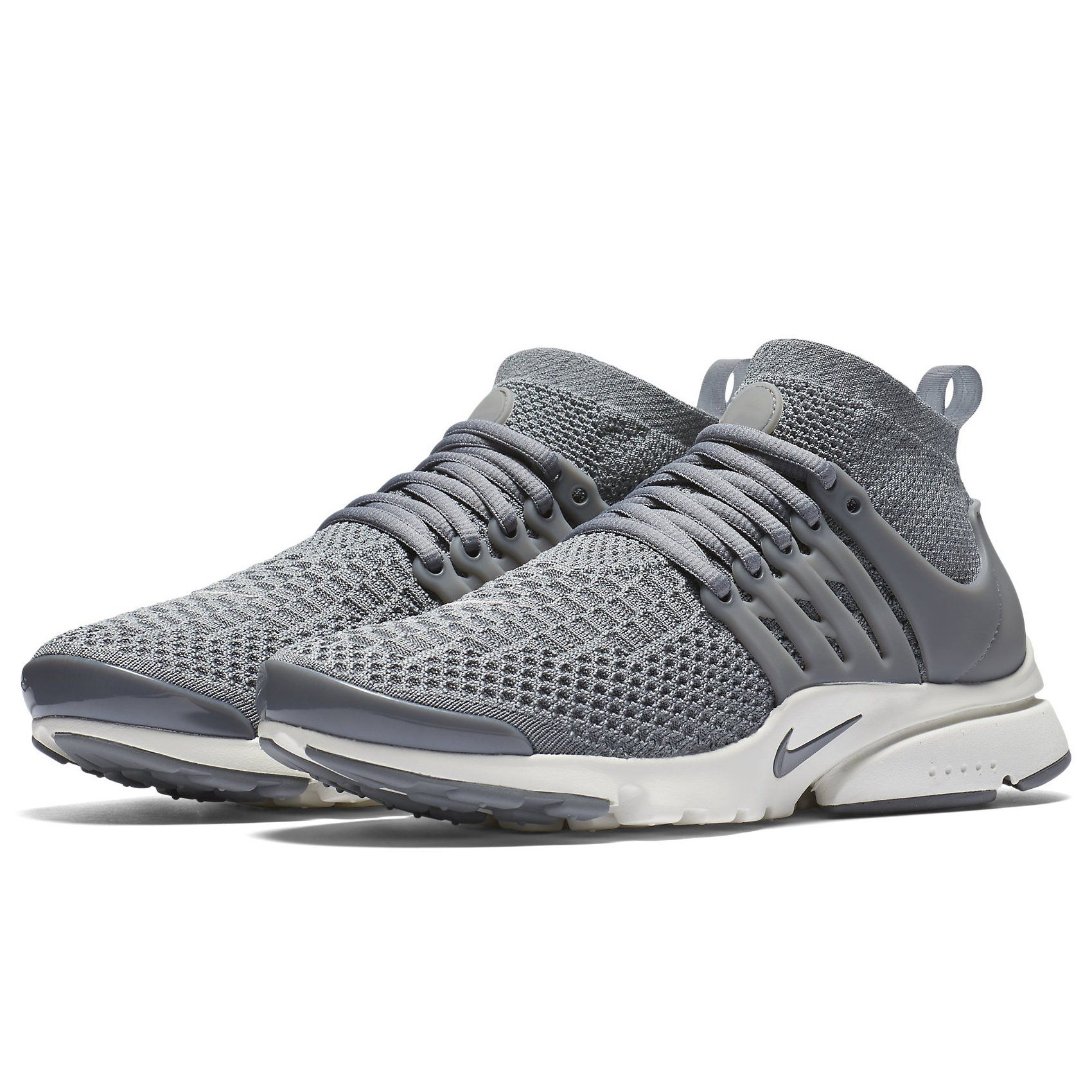 316ddfa46ffa Nike W Air Presto Flyknit Ultra 835738002 Cool Grey White Womens Running  Shoes size 7.5
