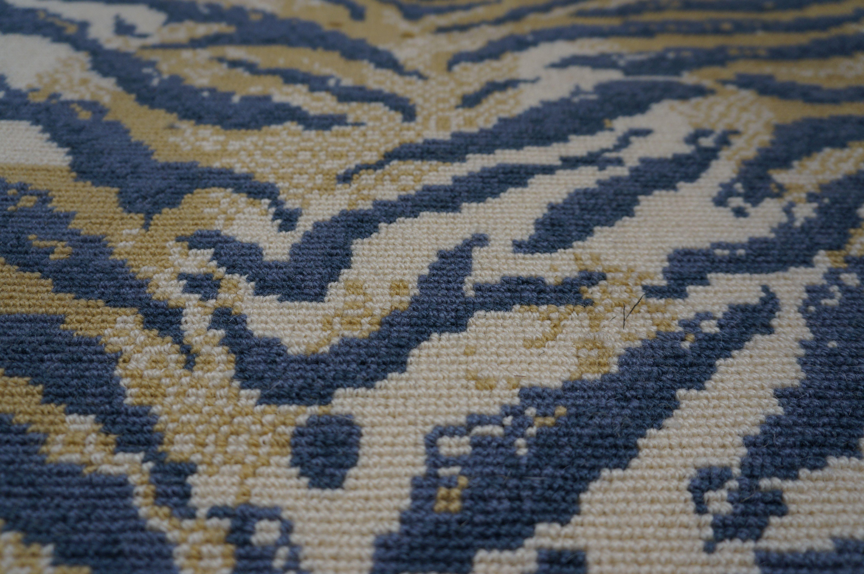 Animal print wool carpet rugs runners wool carpet for Wool carpeting wall to wall