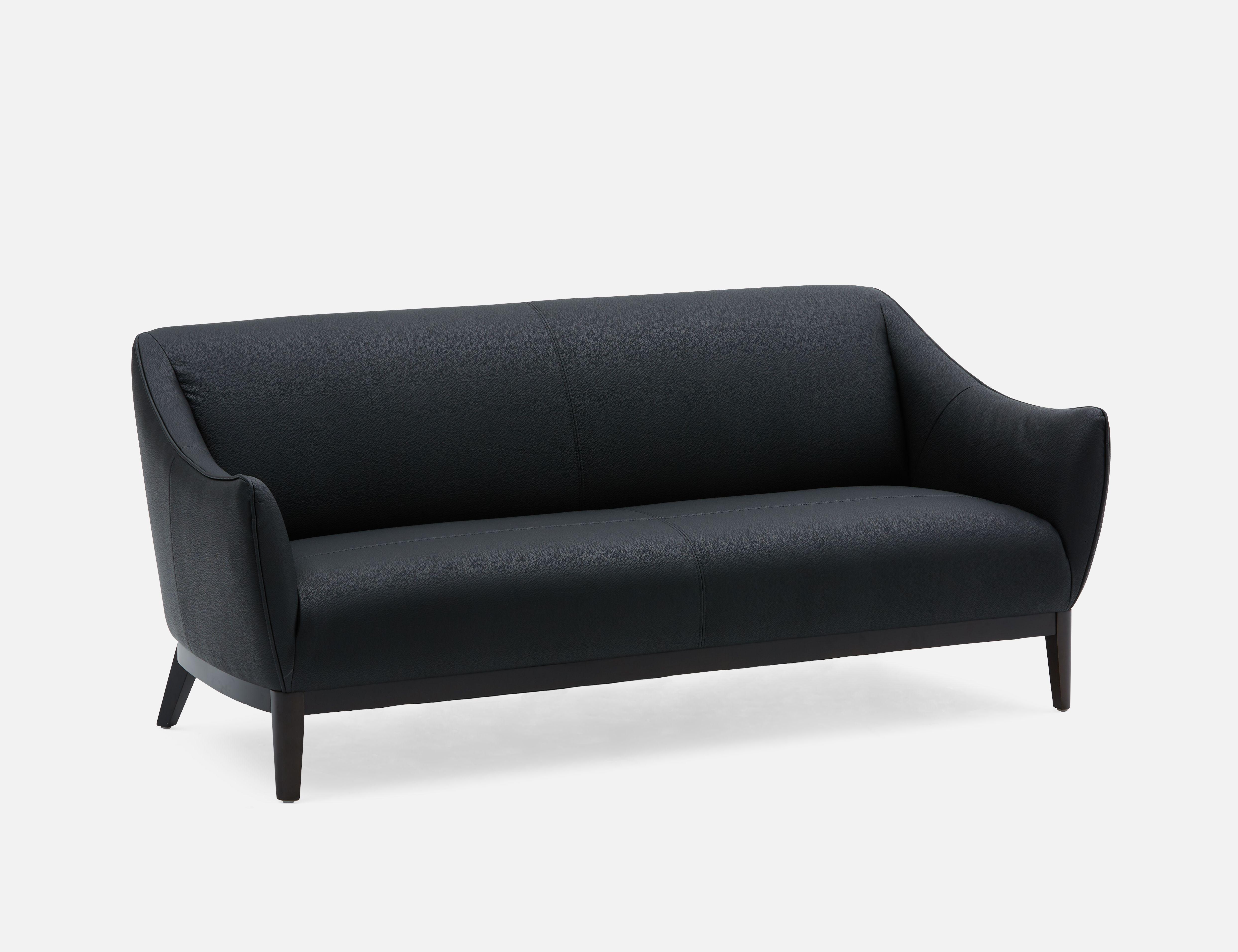Black 3 Seater Sofa Structube Noah Sofa Modern Sofa Three