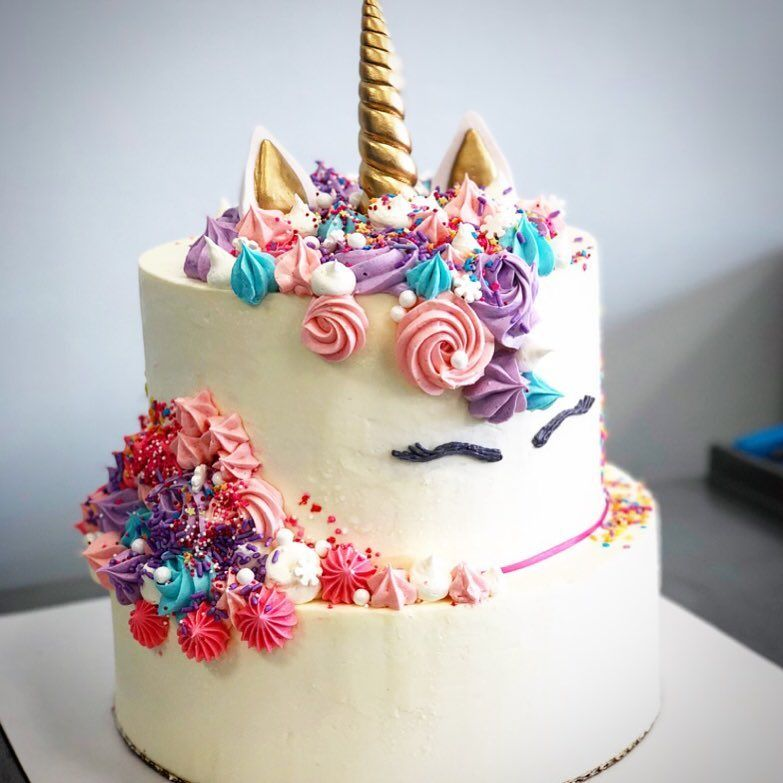 Swell Unicorn Cake The Pantry Kc Bakery Cafe Lenexa Ks Kansas City Birthday Cards Printable Opercafe Filternl