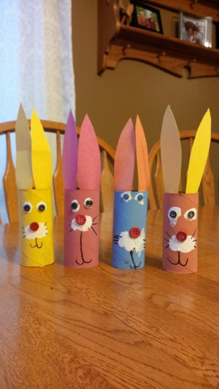 Bastelideen Ostern Klopapierrollen 99 Diy Ideas For Crafting With Toilet Paper Rolls Easter