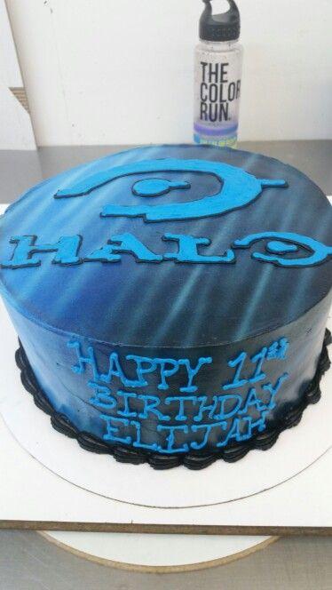 Halo Cake Pinteres