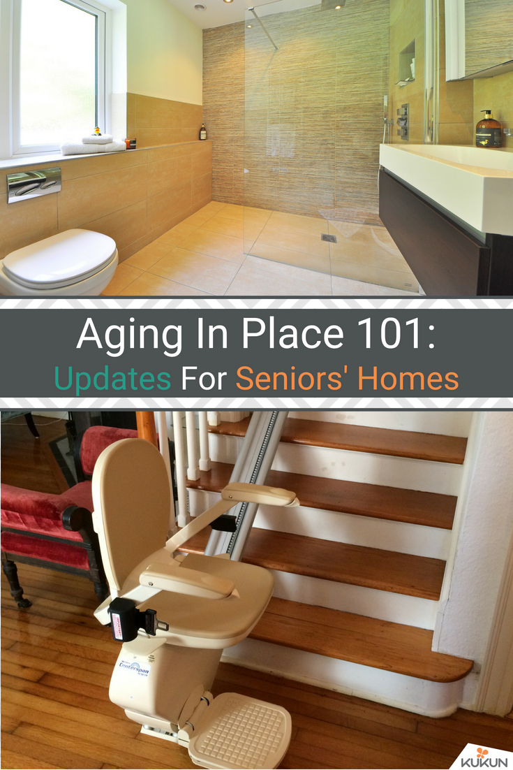 Aging in Place 101: Updates for Seniors\' Homes | ADA | Pinterest ...