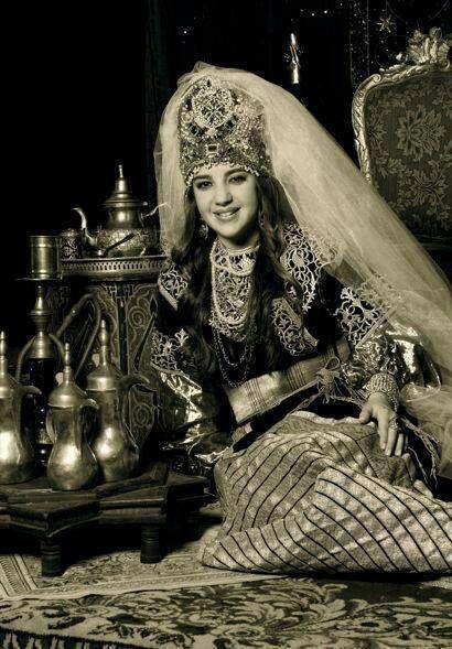 Judía de Marruecos. Jewish traditional bride | La Moda y su historia ...