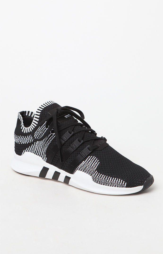 official photos c84bb 14b18 EQT Support Adv Primeknit Black  White Shoes
