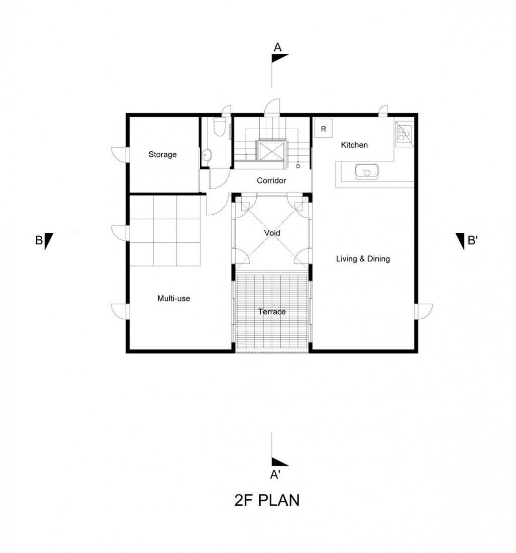 eddi s prefab house by edward suzuki associates plans eddi s prefab house by edward suzuki associates