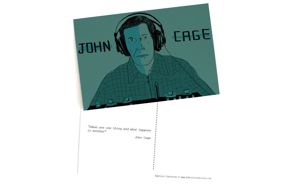 Micro contemporary artists collection: John Cage