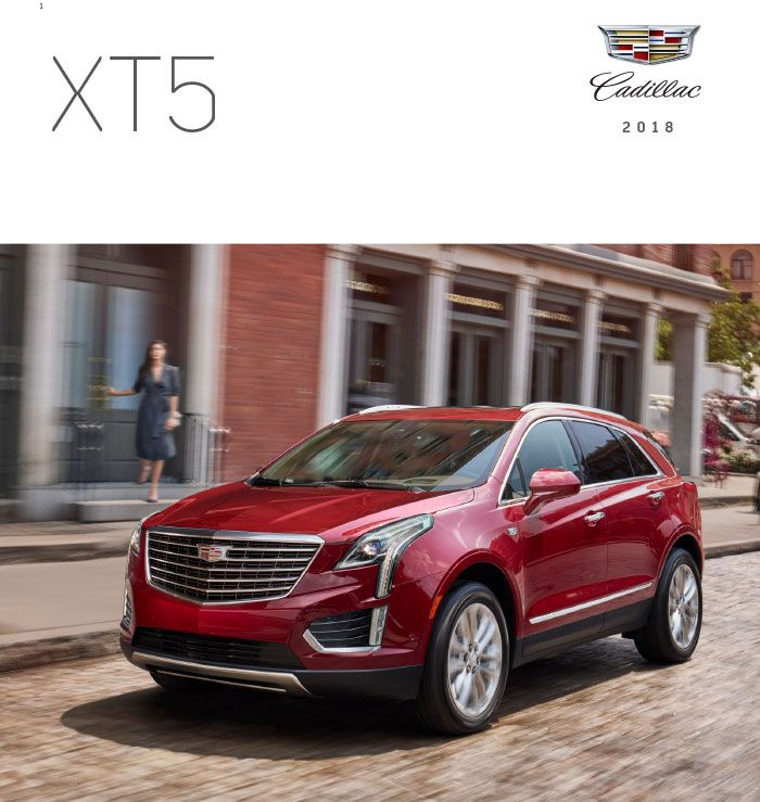 Download The 2018 Cadillac Xt5 Brochure Everything Graff Mt